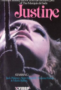 Постер фильма Жюстина маркиза Де Сада (1969)