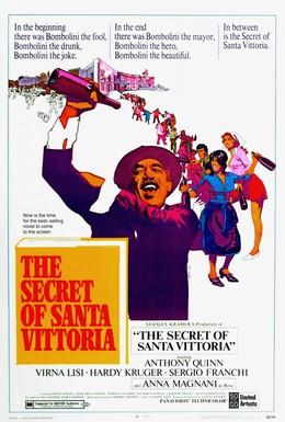 Постер фильма Тайна Санта-Виттории (1969)