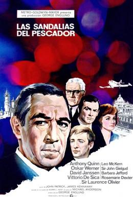 Постер фильма Башмаки рыбака (1968)