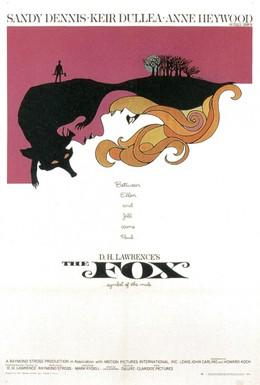 Постер фильма Лис (1967)