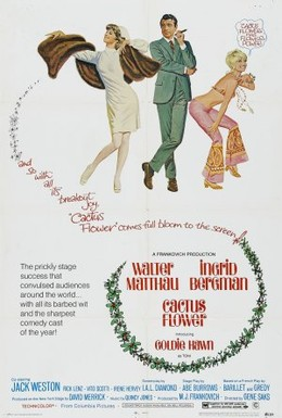 Постер фильма Цветок кактуса (1969)