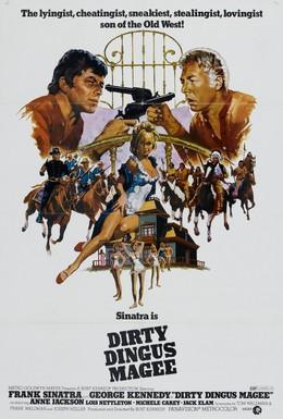 Постер фильма Грязный Дингус Маги (1970)