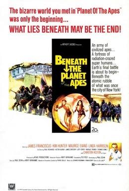 Постер фильма Под планетой обезьян (1970)