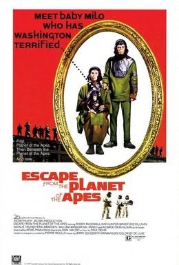 Постер фильма Бегство с планеты обезьян (1971)