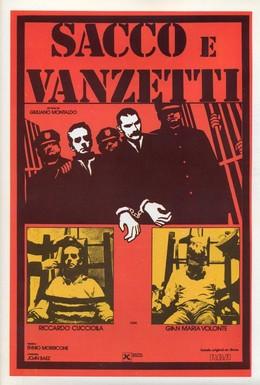 Постер фильма Сакко и Ванцетти (1971)