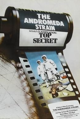 Постер фильма Штамм Андромеда (1971)