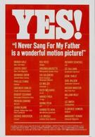 Я никогда не пел отцу (1970)