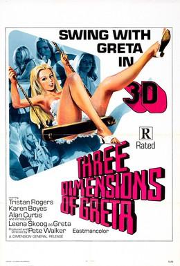 Постер фильма Четыре измерения Греты (1972)