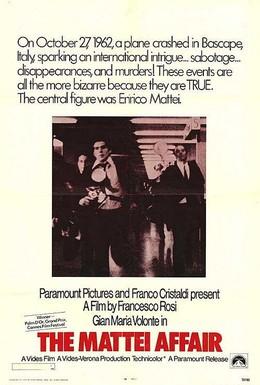 Постер фильма Дело Маттеи (1972)