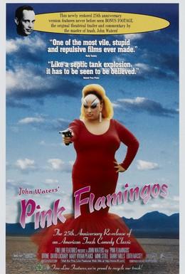 Постер фильма Розовые фламинго (1972)