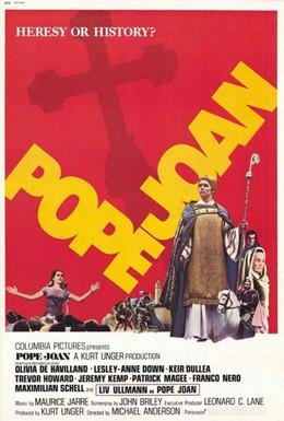 Постер фильма Папесса Иоанна (1972)