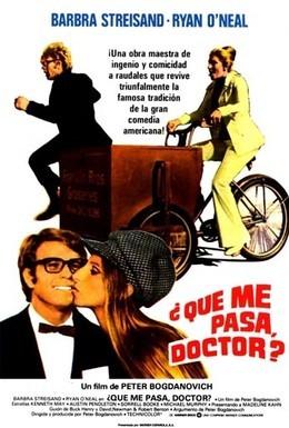 Постер фильма В чем дело, док? (1972)