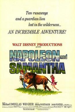 Постер фильма Наполеон и Саманта (1972)