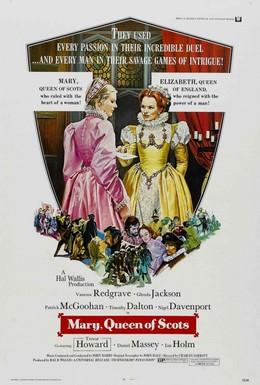 Постер фильма Мария – королева Шотландии (1971)