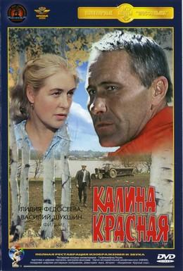 Постер фильма Калина красная (1973)