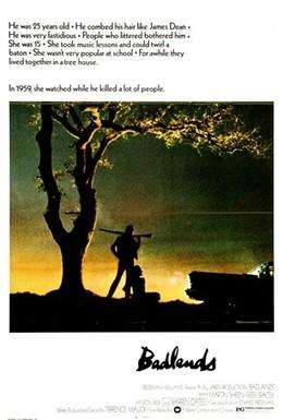 Постер фильма Пустоши (1973)