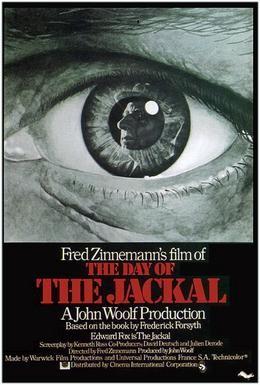 Постер фильма День Шакала (1973)
