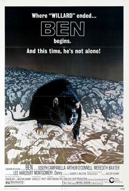 Постер фильма Бен (1972)