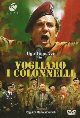 Постер фильма Хотим полковников (1973)