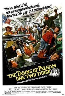 Постер фильма Захват поезда Пелэм 1-2-3 (1974)