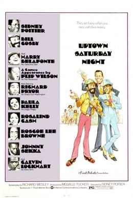 Постер фильма Субботний вечер на окраине города (1974)