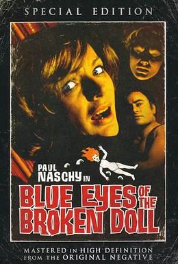Постер фильма Голубые глаза поломанной куклы (1974)