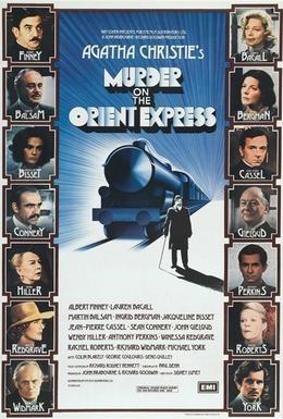 Постер фильма Убийство в Восточном экспрессе (1974)