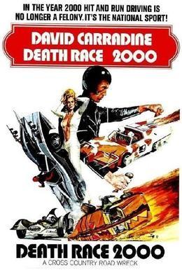Постер фильма Смертельные гонки 2000 года (1975)