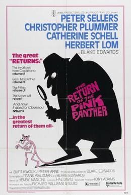 Постер фильма Возвращение Розовой пантеры (1975)