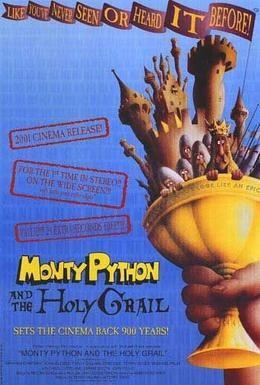 Постер фильма Монти Пайтон и священный Грааль (1975)
