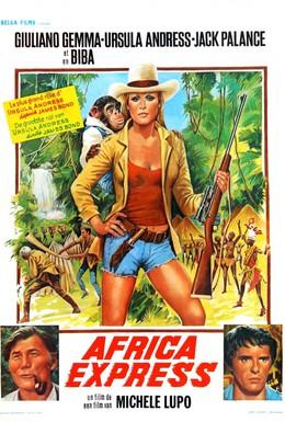 Постер фильма Африка экспресс (1975)