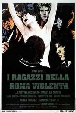 Постер фильма Дети с жестоких улиц Рима (1976)