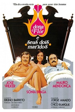 Постер фильма Дона Флор и два ее мужа (1976)