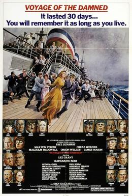 Постер фильма Путешествие отверженных (1976)