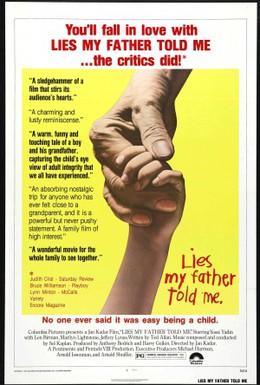 Постер фильма Мой отец говорил мне неправду (1975)