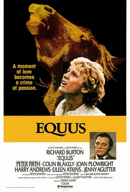 Постер фильма Эквус (1977)
