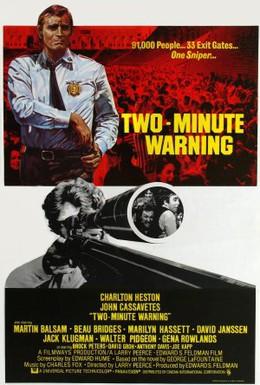 Постер фильма Двухминутное предупреждение (1976)