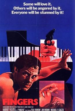 Постер фильма Пальцы (1978)
