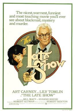 Постер фильма Позднее шоу (1977)
