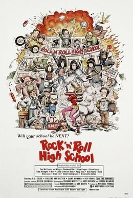 Постер фильма Высшая школа рок-н-ролла (1979)
