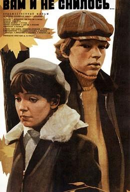 Постер фильма Вам и не снилось (1980)