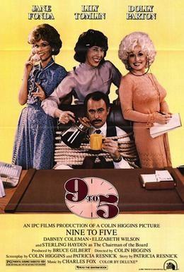 Постер фильма С девяти до пяти (1980)