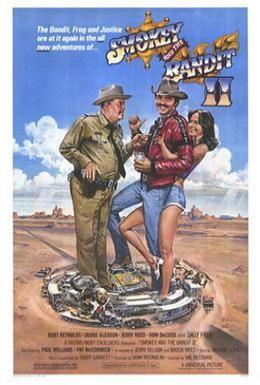 Постер фильма Смоки и Бандит 2 (1980)