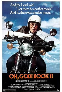 Постер фильма О, Боже! Книга 2 (1980)