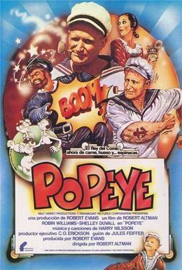 Постер фильма Попай (1980)