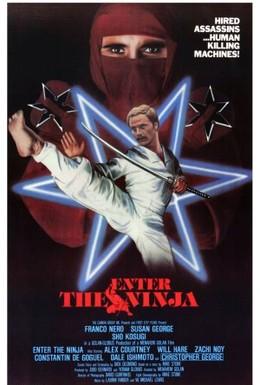Постер фильма Входит ниндзя (1981)