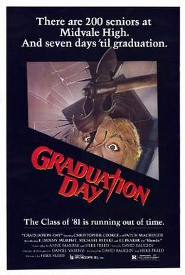 Постер фильма День окончания школы (1981)
