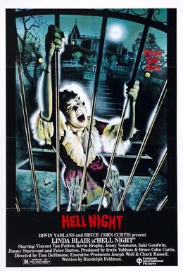 Постер фильма Адская ночь (1981)