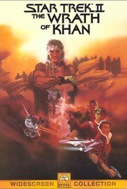 Постер фильма Звездный путь 2: Гнев Хана (1982)