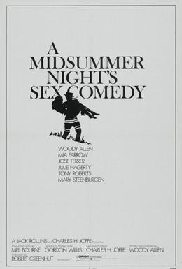 Постер фильма Сексуальная комедия в летнюю ночь (1982)